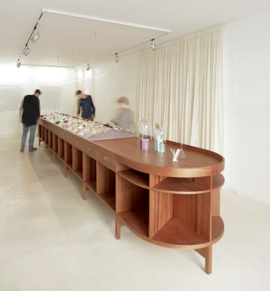 The Frangrance Store by Unknown Architects  Photography: Raoul Kramer